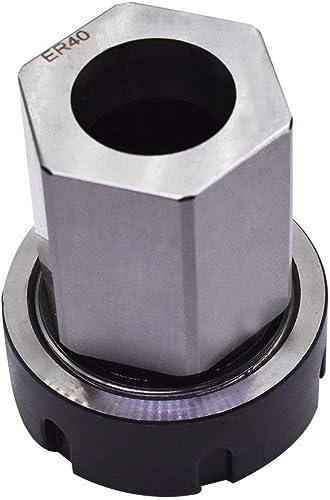 lowest ER-40 Square Hex sale high quality Collet Block Chuck Holder for CNC Lathe Engraving Machine (ER-40 Hex) online