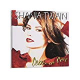 YANDING Shania Twain CD Poster Come On Over Poster