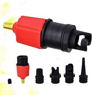 CLISPEED Adaptador de Bomba Inflável Sup Bomba de Ar Conversor de Válvula de Ar Adaptador Falou Placa de Fixação para Barc...