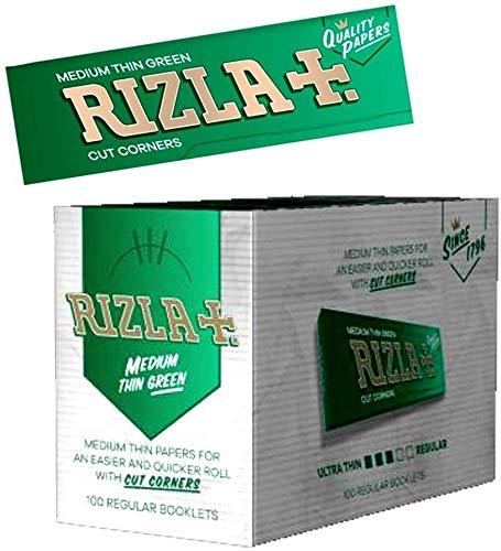 rizla cartine corta verde - 100 libretti
