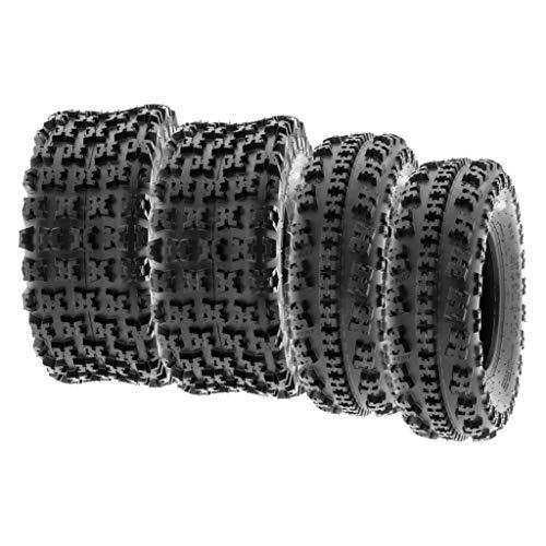 SunF 23x8-11 22x11-9 ATV UTV Tires 6 PR Tubeless A027 [Bundle]