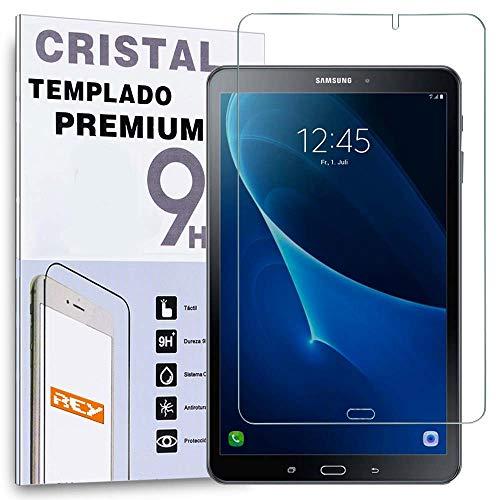 REY Protector de Pantalla para Samsung Galaxy Tab A 7' T280, Cristal Vidrio Templado Premium