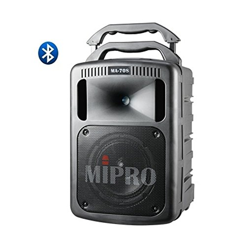 Find Cheap MiPro MA-708PAB | Portable 190W PA Bluetooth System Black