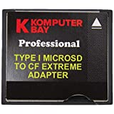 Komputerbay 2 MicroSD to CompactFlash アダプタ 高速 Micro SD to Compact Flash Type I CF アダプタ