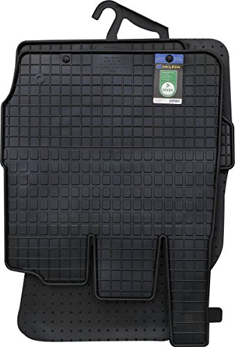 PETEX Gummimatten passend für Fiesta ab 02/2011-06/2017 Fußmatten schwarz 4-teilig