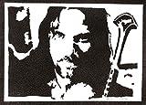 Aragorn Poster Der Herr der Ringe Plakat Handmade Graffiti
