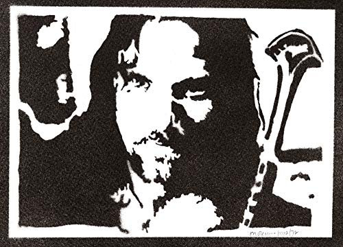 Pster Aragorn El Seor de los Anillos Grafiti Hecho a Mano The Lord of the Rings Handmade Street Art - Artwork