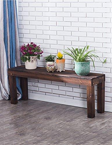XIAOLIN- Racks de fleurs en bois massif à plusieurs étages Balcon Style de plancher Pot à fleurs Rack Racks en pot multifonctions à l'intérieur -Cadre de finition de fleurs (taille : 120 * 45cm)