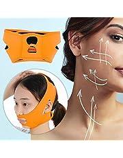 Face Slimming Mask, Face Slim Lift Tighten Beauty Skin Bandage Dubbele kin Verwijder V-vormige V-lijn Gewichtsverlies riem voor dubbele kin, vierkant gezicht, babyvet.