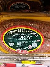 Chorizo de San Manuel Pork Chorizo 12 Oz (4 Pack)
