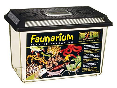 Exo Terra Faunarium- Allzweckbehälter für Reptilien, Amphibien, Mäuse und Insekten, groß