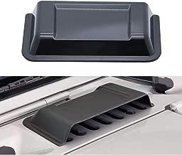 u-Box Jeep Hood Vent Scoop Black Cowl Heater Air Vent Cover for 1997-2018 Jeep Wrangler TJ JK & Unlimited