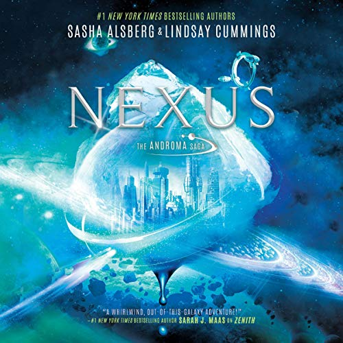 Nexus     The Androma Saga, Book 2              By:                                                                                                                                 Sasha Alsberg,                                                                                        Lindsay Cummings                               Narrated by:                                                                                                                                 Jordan Claire McCraw,                                                                                        Stephen Dexter,                                                                                        Caitlin Davies,                   and others                 Length: 12 hrs and 45 mins     Not rated yet     Overall 0.0
