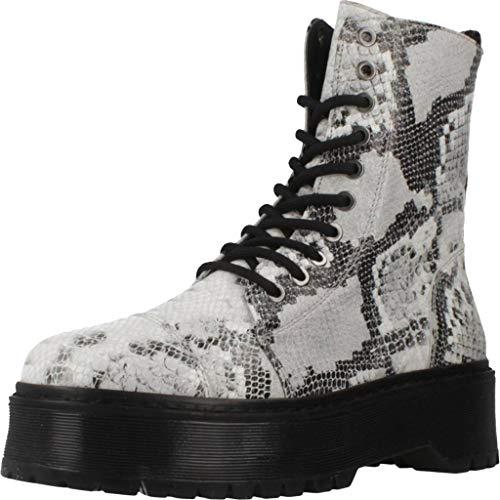 Bronx Shoes Damen Stiefelleten Boots 47183P Mehrfarbig 37 EU