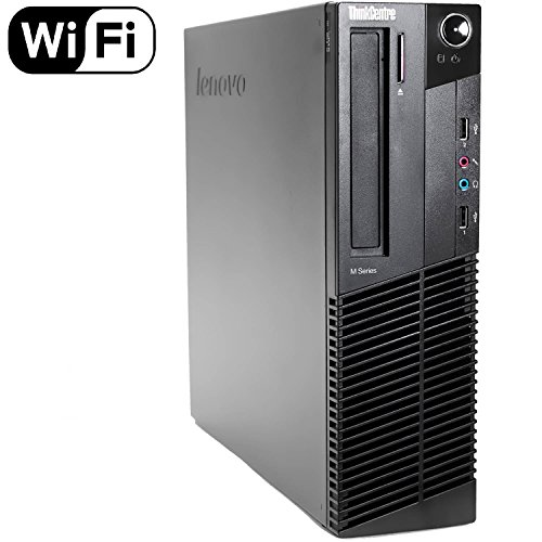 2016 Lenovo ThinkCentre M92p High Performance Desktop Computer, Intel Core i5 CPU up to 3.6GHz., 8GB DDR3 RAM, 500GB HDD, DVD, Windows 10 Professional (Renewed)