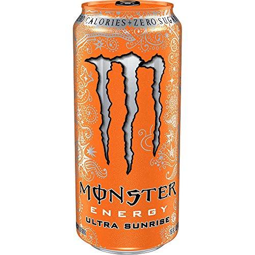 Monster Energy Drink Ultra Sunrise 16 Oz (12 Pack) by Monster Energy