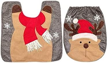 Korean World Christmas Toilet Seat Cover Cushion Toilet Kit Noel Bowl Christmas Ornament Se Santa Claus Rug Bathroom Set Xmas Gift New Year Cool Must Haves The Favourite DVD Superhero Toys