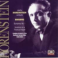 BRAHMS:Symphony No. 1. Variations on St. Anthony Chorale