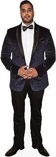 Amar Adatia (Black Suit) Mini Size Cutout
