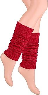 regalo sportivo in vari colori taglia unica Ateena Scaldamuscoli in cotone caldo e confortevole