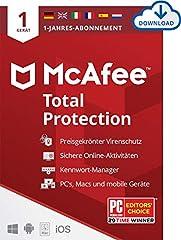 40% sparen auf McAfee Antivirus Software (Download Code)