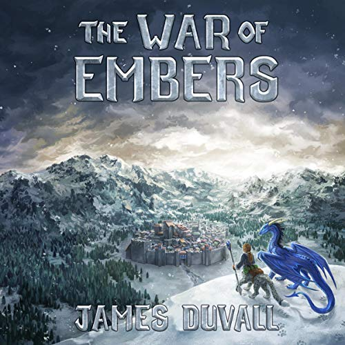 The War of Embers audiobook cover art