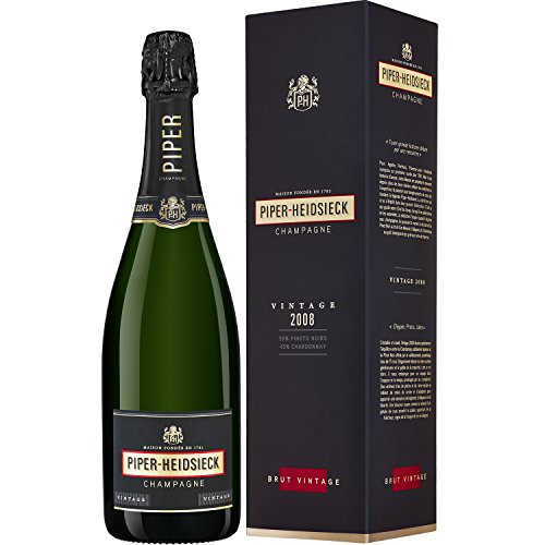 Piper Heidsieck Vintage 2008 Champagne 75cl - Gift Boxed