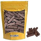 Fruidles Chocolate Covered Jell Sticks, Gluten Free Chocolate Jellies, Kosher Certified (8 Oz)
