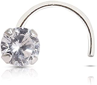 Buy Izaara Traditional 92 5 Silver Nose Ring For Women Stylish