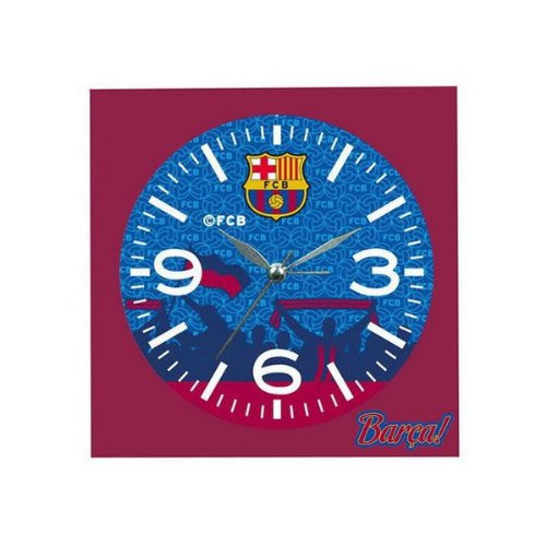 FC Barcelona - Despertador pequeño campanas Barcelona CF, color azul