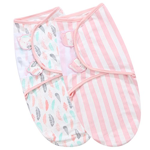 Angelife Baby Receiving Blanket Infant Swaddle Wrap Sack 3-6 Months
