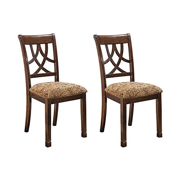 Ashley Furniture Signature Design – Leahlyn Dining Upholstered Side Chair –...