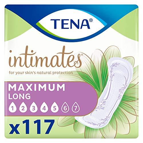 Tena Intimates Maximum Incontinence Pad Long Length, 117 ct