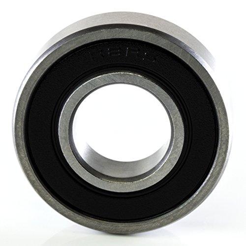 Ten (10) Pack R8-2RS 1/2 x 1-1/8 x 5/16 Double Sealed Precision Ball Bearing CNC Slide Bushing