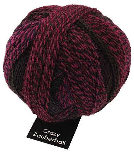 Schoppel Wolle Zauberball Crazy 2082 Charisma, Bunte Sockenwolle mit Farbverlauf zum Stricken oder Häkeln