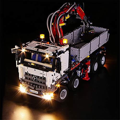 TMIL Conjunto De Iluminación LED Compatible con Lego 42043, Kit De Luz DIY para Arocs 3245 Bloque De Construcción, Accesorios De Juguete (Solo Conjunto De Luz)