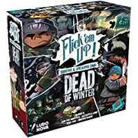 Ludonova-Flick'em Up Dead of Winter Juego de mesa para 2-4 jugadores, 14+ (LDNV140001) , color/modelo surtido