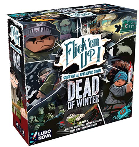 Ludonova-Flickem Up Dead of Winter Juego de Mesa para 2-4 ...