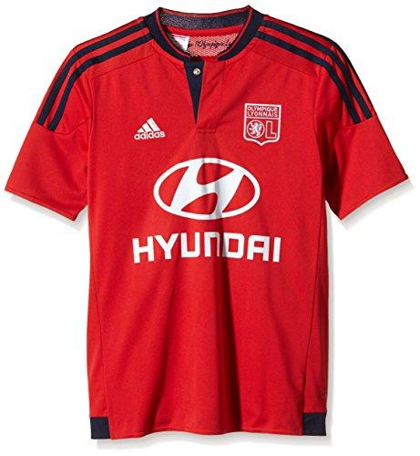 adidas Kinder Trikot Olympique Lyon Auswärts Replica, Collegiate Red/Night Indigo, 176