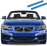 Merisny Rejillas de Radiador Compatible para BMW Serie 1 a BMW Serie 7 F20 F21 F30 F31 F34 320i 325i 328i 330i 335i 428i F22 F23 F44 F45 F46 F32 F33 F36 G30 G31 G38 G32 G11 G12 Accesorios de Coche