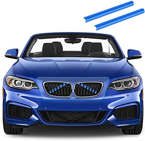 Merisny Kühlergrill Einsatz Zierleiste passt für BMW 1er bis BMW 7er F20 F21 F30 F31 F34 320i 325i 328i 330i 335i 428i F22 F23 F44 F45 F46 F32 F33 F36 G30 G31 G38 G32 G11 G12 Auto Zubehör
