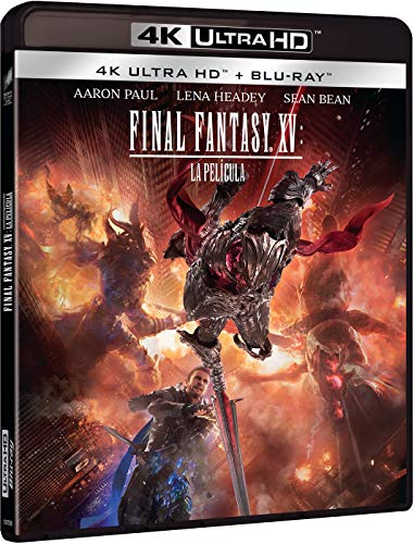 FINAL FANTASY XV: LA PELICULA (4K UHD + BD) [Blu-ray]