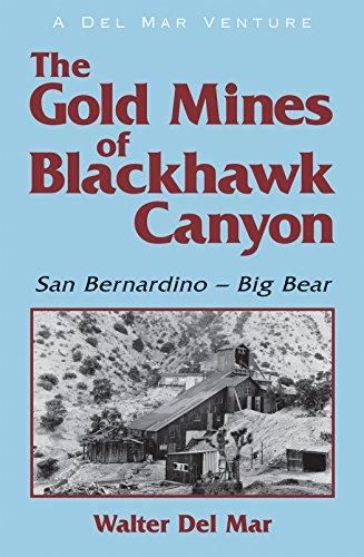 The Gold Mines of Blackhawk Canyon: San Bernadino - Big Bear (English Edition)