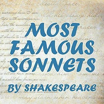 Most Famous Sonnets
