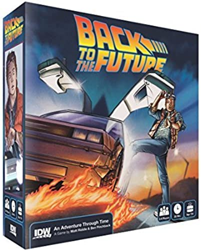 Back to The Future Adventure Through Time Game by IDW Games
