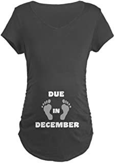 Due in December (Belly) Maternity Maternity Tee