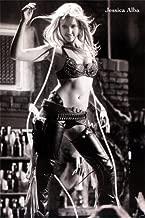 Jessica Alba Sexy Poster 23.5 x 34 fullsize Black & White Sin City era (Sent from USA in PVC Pipe)