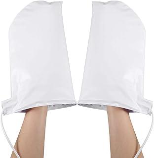 パラフィンワックスハンドトリートメント、ネイルアートマニキュアウォーマーミトン女性ビューティーセラピーSPAミット電気温水ミトン手袋
