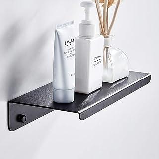 IUYJVR Espace Solide en Aluminium Noir Organisateur de Douche Salle de Bain Coiffeuse étagère de Bain étagère Rack Rangeme...