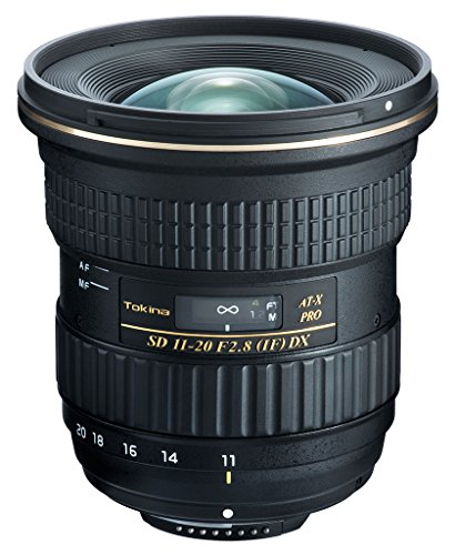 Tokina at-X 11-20/2.8 Pro DX Objektiv für Nikon schwarz